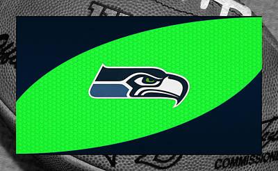 Seahawks Photograph - Seattle Seahawks by Joe Hamilton