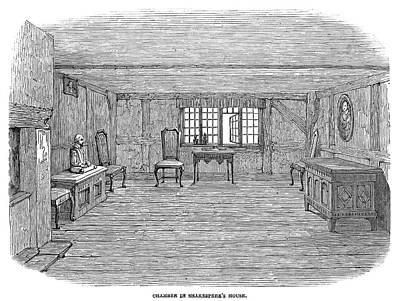 Stratford Painting - Shakespeare House by Granger