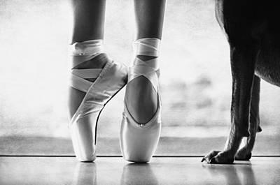 Companion Digital Art - Shall We Dance by Laura Fasulo