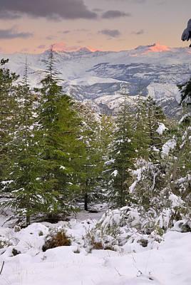 Sierra Nevada National Park Print by Guido Montanes Castillo