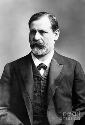 Freud Photograph - Sigmund Freud (1856-1939) by Granger