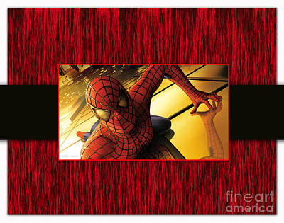 Spiderman Mixed Media - Spiderman by Marvin Blaine