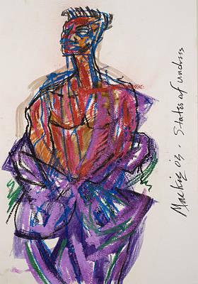 States Of Undress Print by Deryl Daniel Mackie