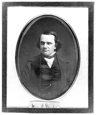 Stephen Arnold Douglas Print by Granger