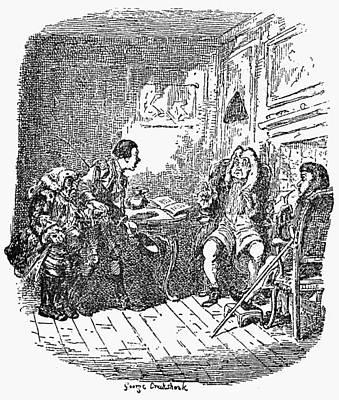 Sterne Tristram Shandy Print by Granger