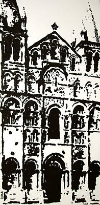 Painting - Stonework by Oscar Penalber