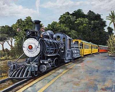 Sugar Cane Train Original by Darice Machel McGuire