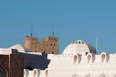 Sergio Photograph - Sultan Qaboos Palace, Old Muscat by Sergio Pitamitz