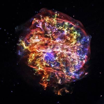 X-ray Image Photograph - Supernova Remnant by Nasa/cxc/sao