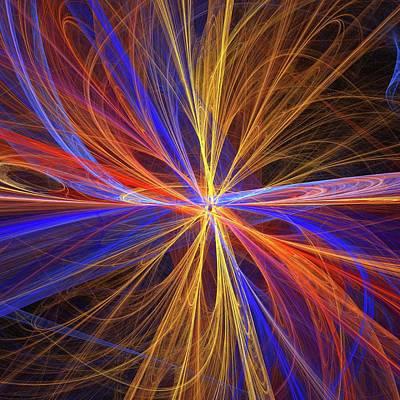 Superstrings Print by Alfred Pasieka