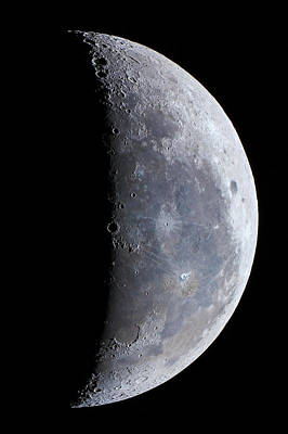 Surface Of The Moon Print by Babak Tafreshi