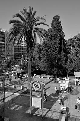 Trees Photograph - Syntagma Square by George Atsametakis