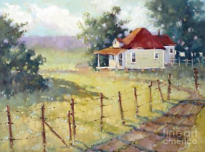 Painting - Texas Plain And Simple by Joyce Hicks