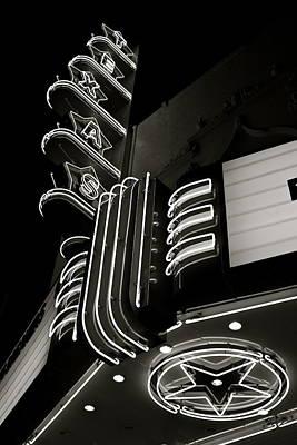 Texas Theatre Marquee Print by John Babis