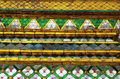 Mosaic Photograph - Thailand, Bangkok by Cindy Miller Hopkins
