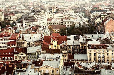 Ukrainian Baroque Photograph - The European Lviv by Roksana Bashyrova