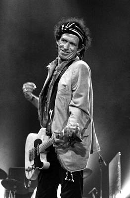 Keith Richards Photograph - The Rolling Stones by Peter Aitchison