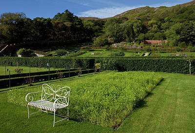 Connemara Photograph - The Victorian Walled Garden, Kylemore by Panoramic Images