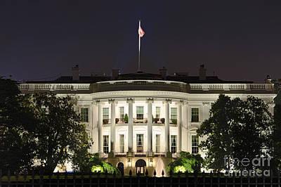 The White House Print by John Greim