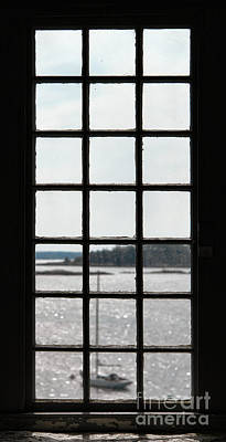 Through An Old Window Print by Olivier Le Queinec