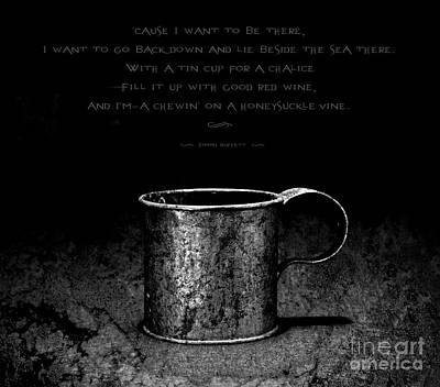 Parrotheads Photograph - Tin Cup Chalice Lyrics by John Stephens