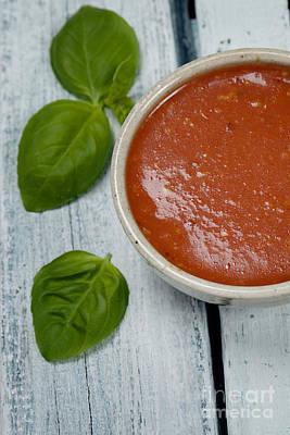 Tomato Soup Print by Mythja  Photography