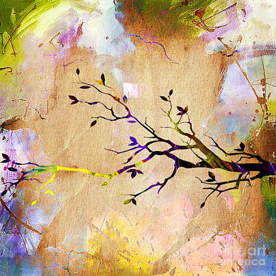 Wall Mixed Media - Tree Branch Collection by Marvin Blaine