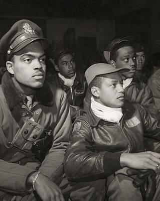 Tuskegee Airmen, 1945 Print by Granger