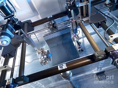 Plotting Photograph - Ultrasound Beam Plotting Equipment by Andrew Brookes, National Physical Laboratory