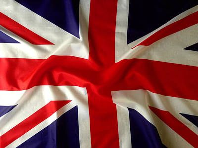 British Photograph - Union Jack by Les Cunliffe