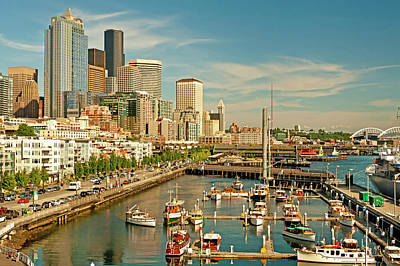 Usa, Washington, Seattle Print by Richard Duval