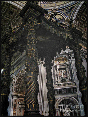 Rome Photograph - Vatican Architecture by RJ Aguilar