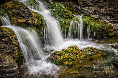 Fall Scenes Photograph - Waterfall by Carlos Caetano
