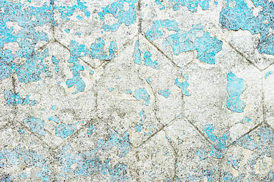 Weathered Wall Print by Tom Gowanlock