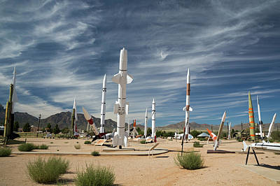 Las Cruces Photograph - White Sands Missile Range Museum by Jim West