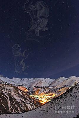 Winter Stars Print by Babak Tafreshi