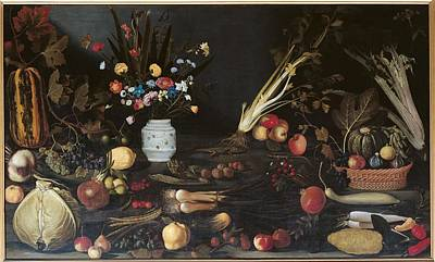 Bunch Of Grapes Photograph - Italy, Lazio, Rome, Borghese Gallery by Everett