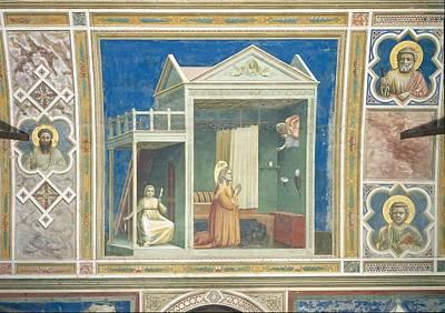 Italy, Veneto, Padua, Scrovegni Chapel Print by Everett