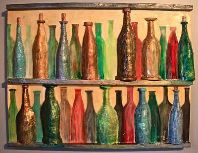 31 Bottles Print by Mark Prescott Crannell