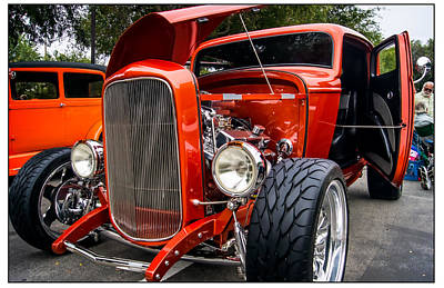 Oldzero Photograph - 32 Ford Coupe by Steve Benefiel