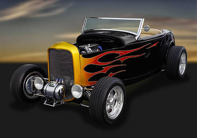 1932 Ford - Grounds 4 Divorce Print by Frank J Benz