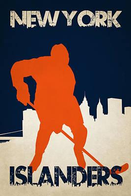 Hockey Photograph - New York Islanders by Joe Hamilton