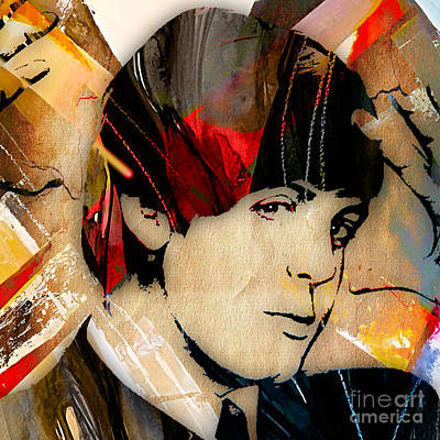 Poster Mixed Media - Paul Mccartney Collection by Marvin Blaine