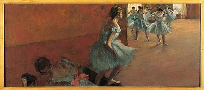 Of Edgar Degas Photograph - France, Ile De France, Paris, Muse by Everett