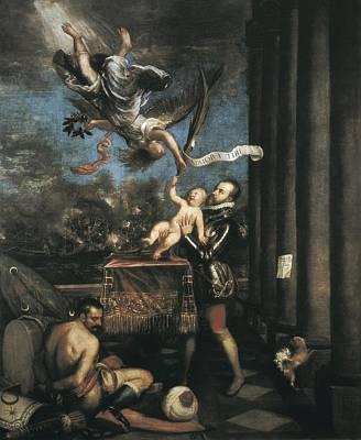 Ttitia, Tiziano Vecello, Also Called Print by Everett