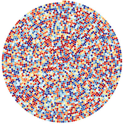 Circle Digital Art - 3422 Digits Of Pi by Martin Krzywinski