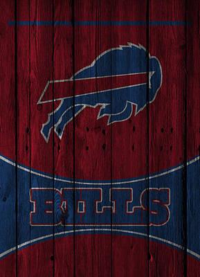 Buffalo Bills Print by Joe Hamilton