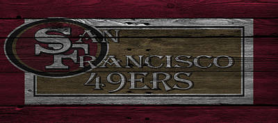 San Francisco 49ers Print by Joe Hamilton