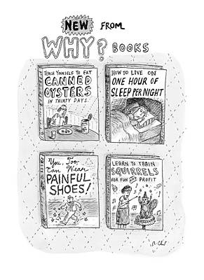 Guides Drawing - Untitled by Roz Chast