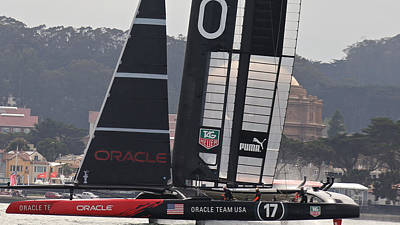 Oracle America's Cup Original by Steven Lapkin